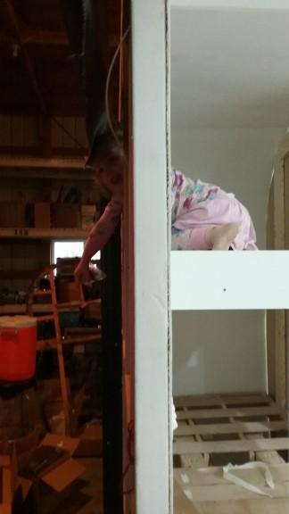 her own window!