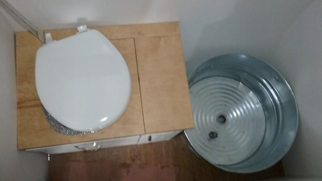 the bathroom layout!