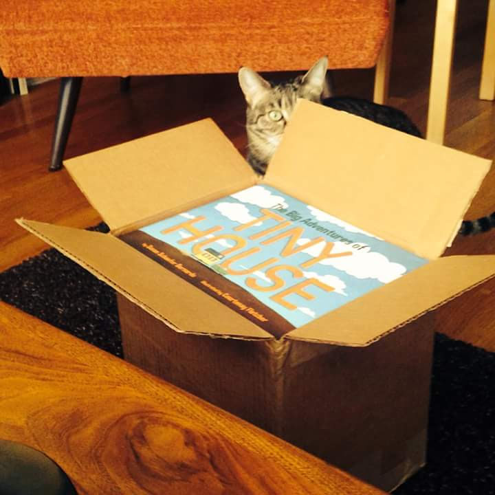The Big Adventure of Tiny House is out!  you can order it here, http://www.shoponceuponatime.com/big-adventures-tiny-house