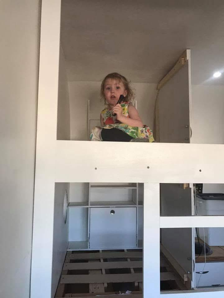 Hazel loves showing off her stuff!