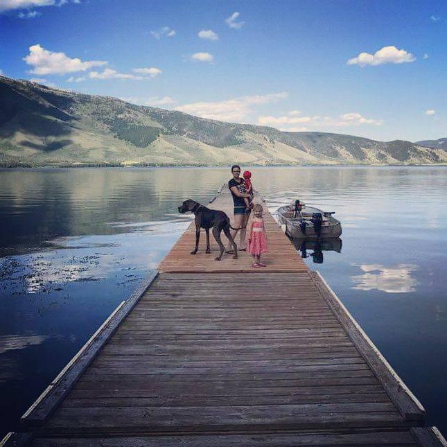 Boondocking at Henrys lake
