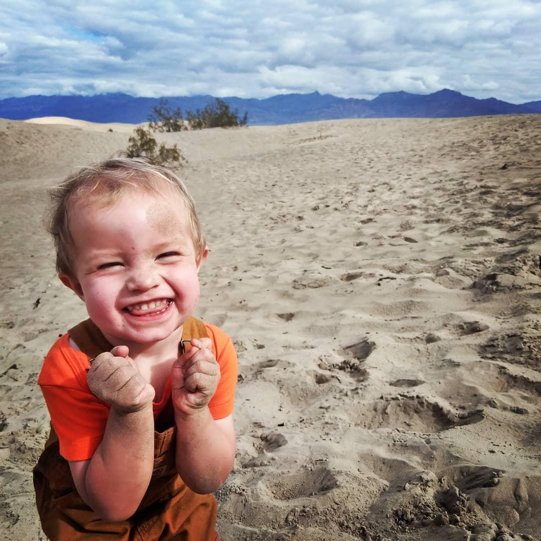 smiles like this!